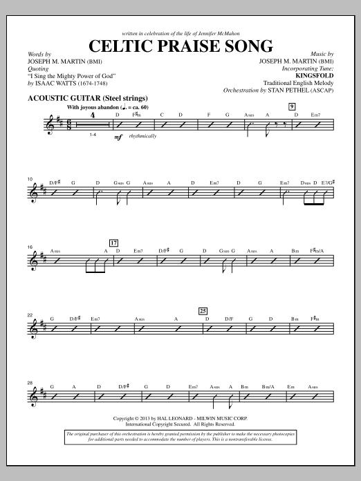 The Celtic Choir - Acoustic Guitar (Choir Instrumental Pak)