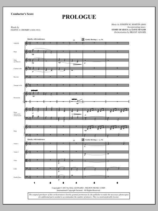 Testimony of Life - Score (Choir Instrumental Pak)