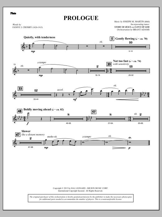 Testimony of Life - Flute (Choir Instrumental Pak)