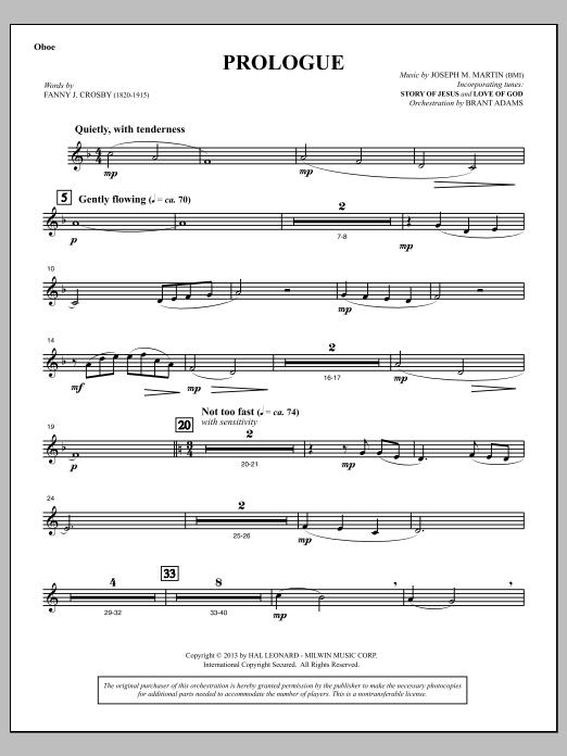 Testimony of Life - Oboe (Choir Instrumental Pak)
