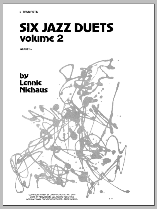 Six Jazz Duets, Volume 2 (Brass Ensemble)