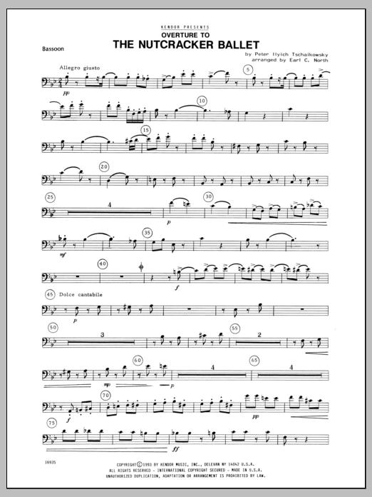 Overture To The Nutcracker Ballet - Bassoon Sheet Music
