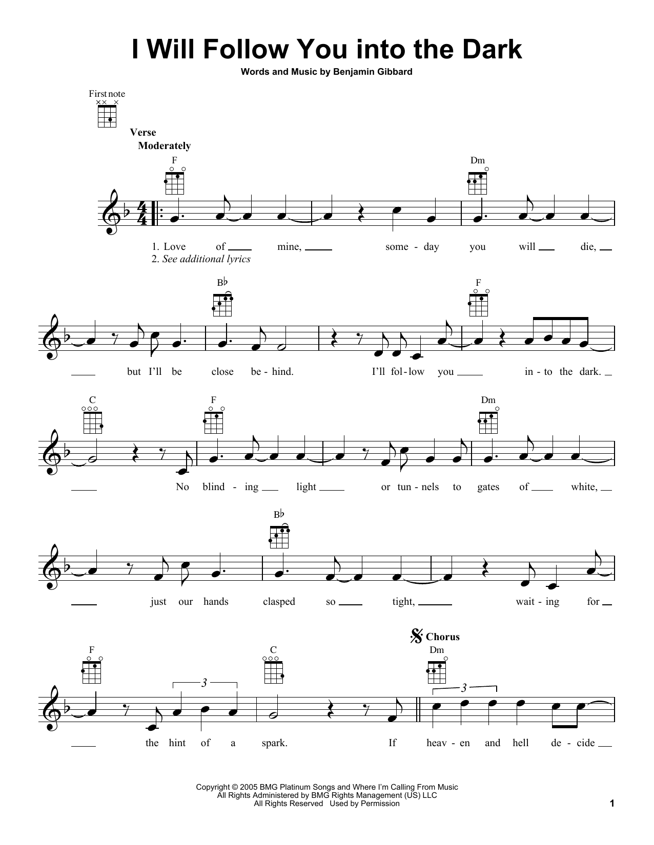 Guitar guitar tabs i will follow you into the dark : Guitar : guitar tabs i will follow you into the dark Guitar Tabs I ...