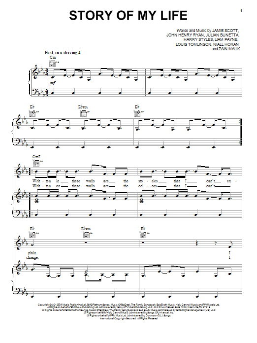 musical story of my life Download shrek the musical story of my life sheet music notes, chords broadway composition arrangement for piano, vocal & guitar (right-hand melody) sheet music.