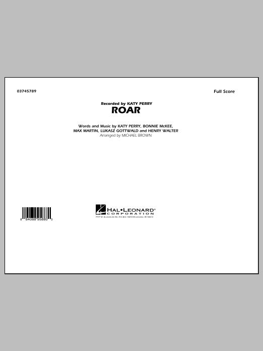 Roar - Conductor Score (Full Score) (Marching Band)