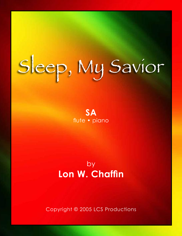 Sleep, My Savior Digitale Noten