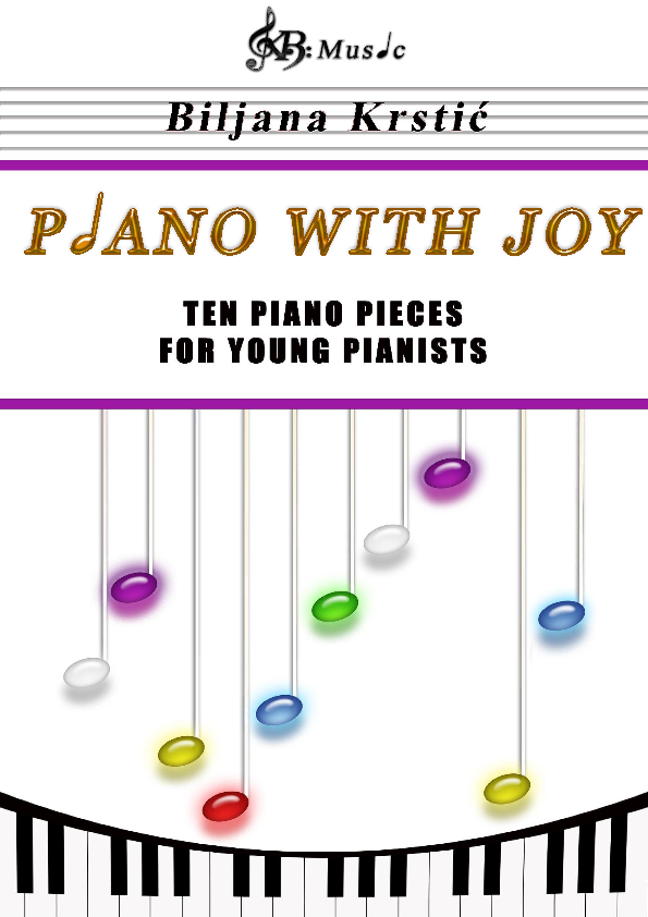 Piano with Joy - Ten piano pieces for young pianists Sheet Music