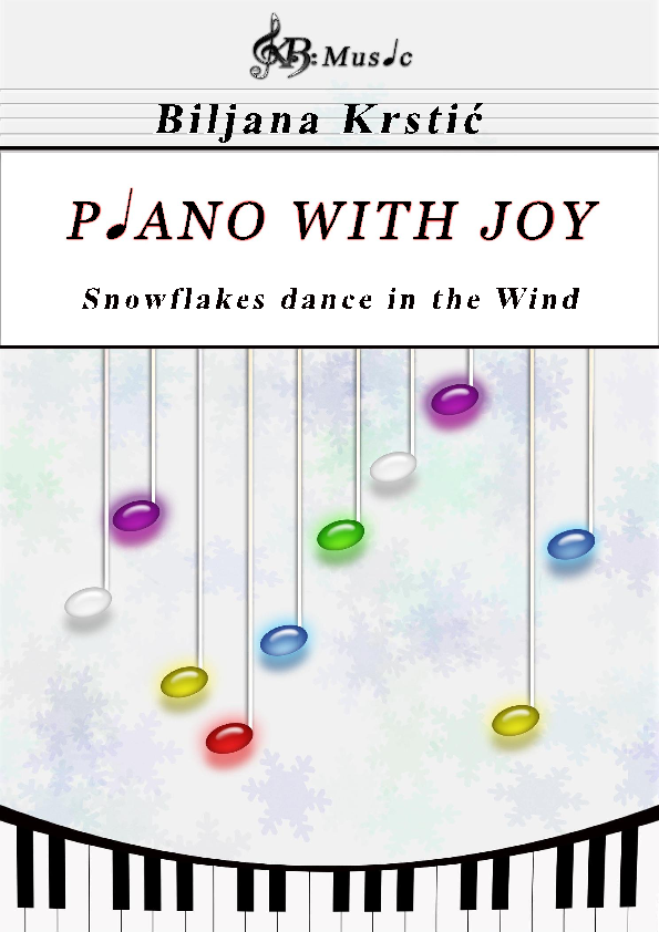 Snowflakes dance in the wind Sheet Music