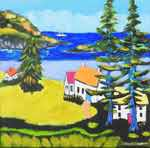 Study #1 for Monhegan Memory