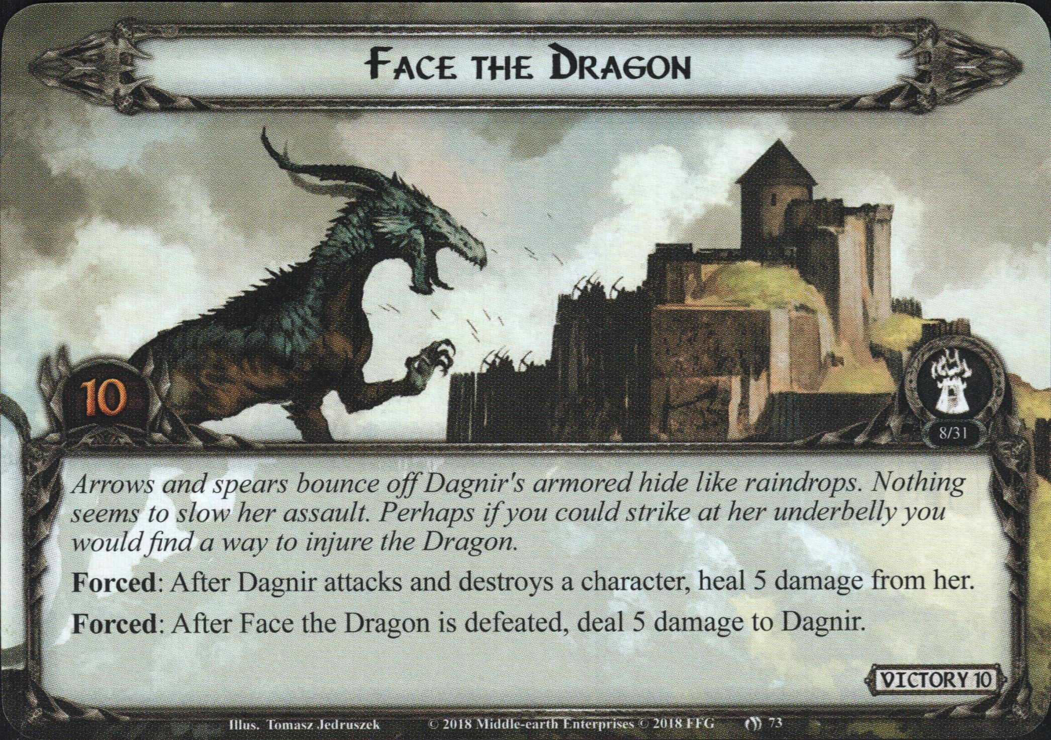 A Note on Dragons in the Third Age