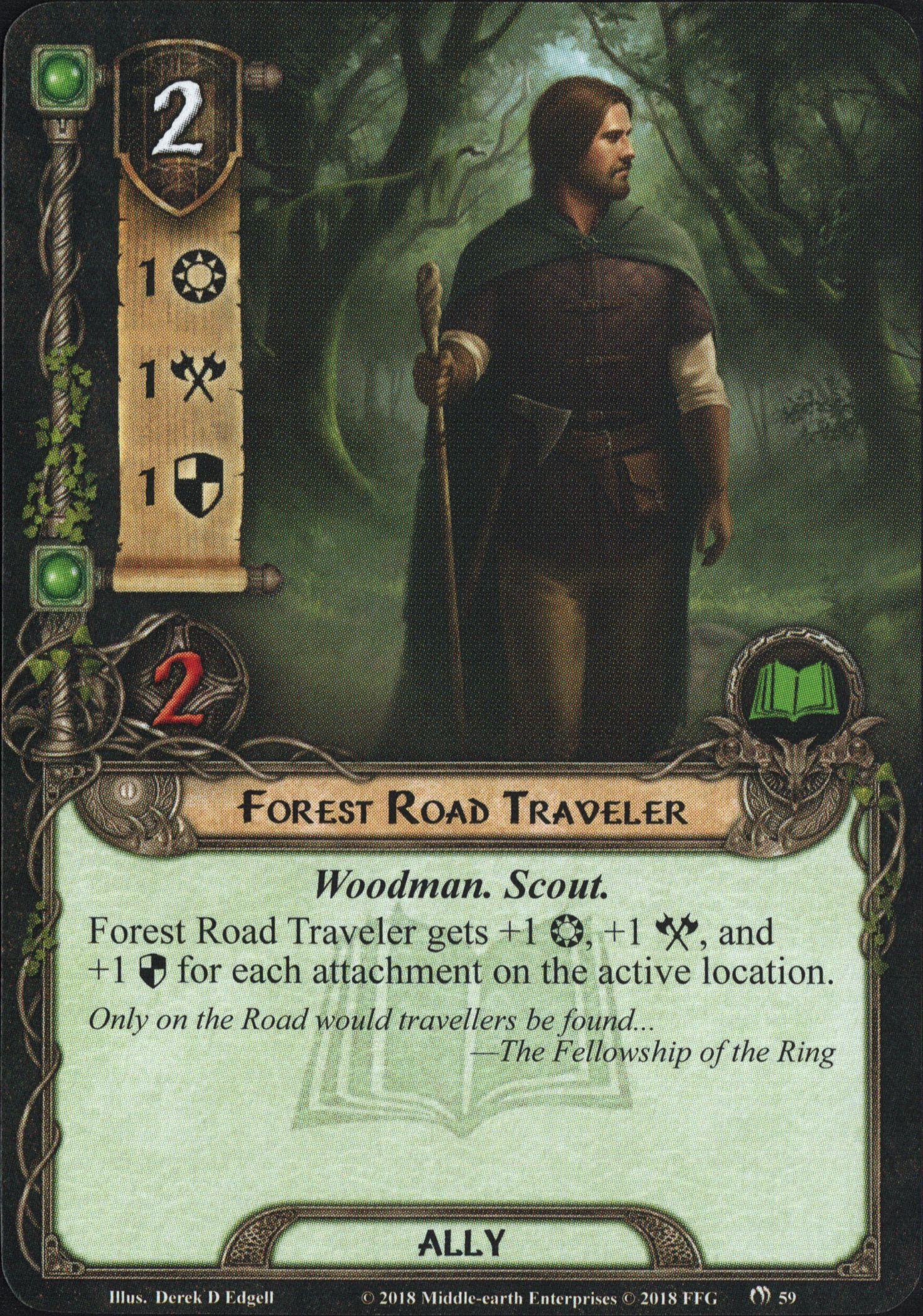 Galerie visuelle des cartes joueurs à venir Forest-Road-Traveler