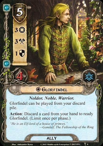 Quels alliés intéressants pour Messenger of the King? Glorfindel