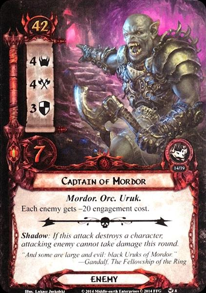 [L'ombre et la flamme - Cauchemar] Discussion générale - Page 2 Captain-of-Mordor