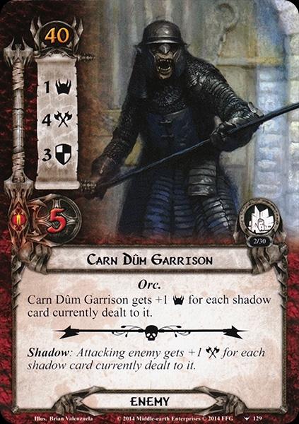 The Battle of Carn Dûm