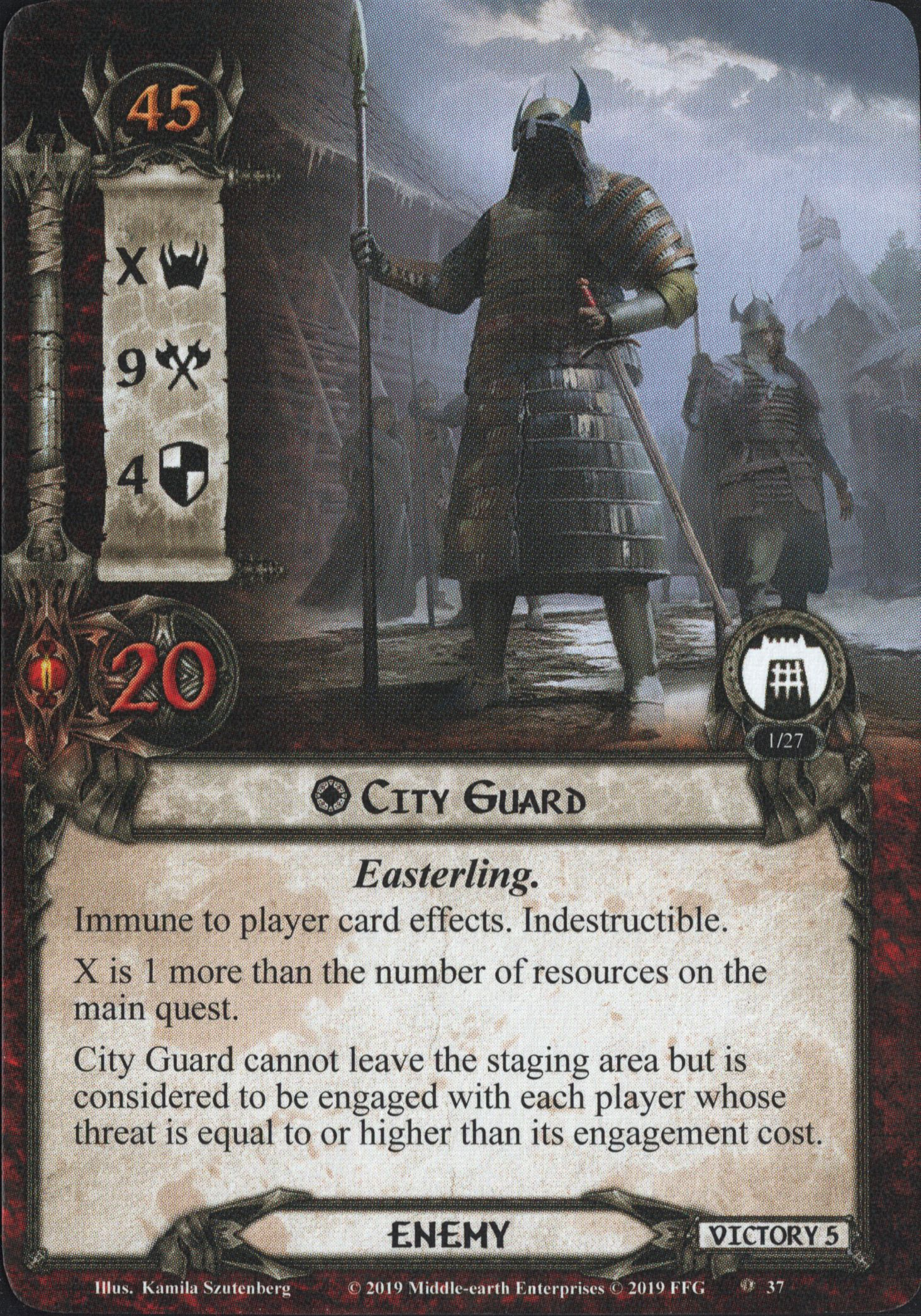 The City of Ulfast Adventure Pack for The Lord of the Rings LCG