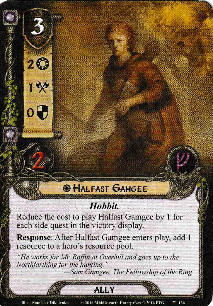 Construisons autour de Raise the Shire Halfast-Gamgee