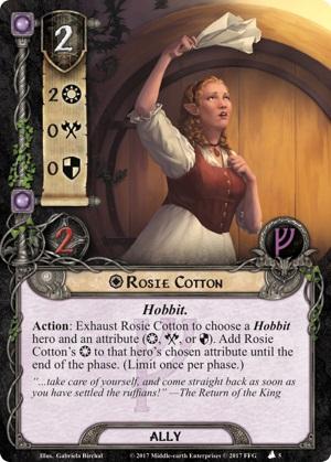 Quels alliés intéressants pour Messenger of the King? Rosie-Cotton