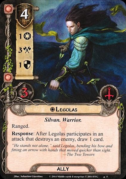 Quels alliés intéressants pour Messenger of the King? Legolas