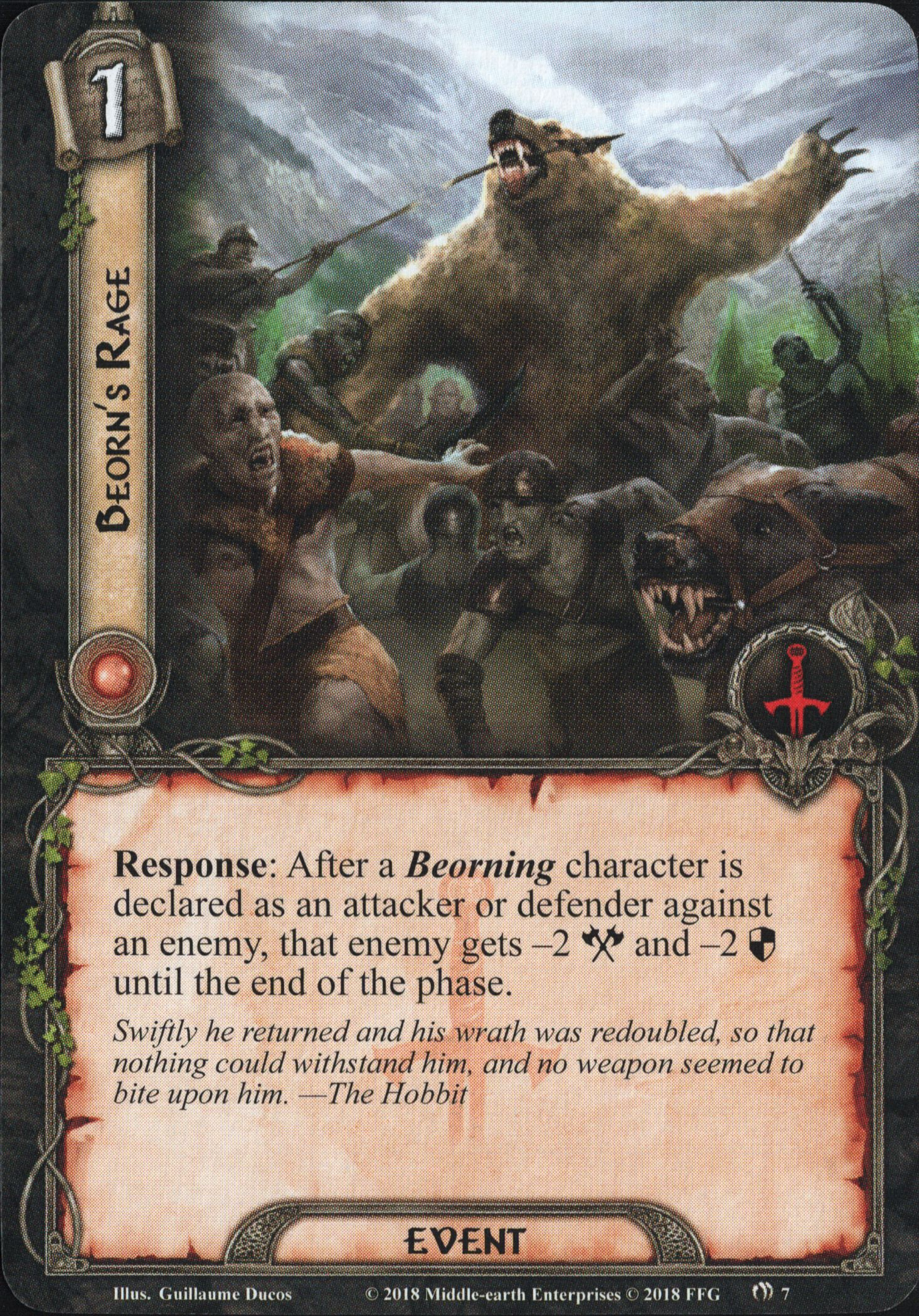 Galerie visuelle des cartes joueurs à venir Beorn's-Rage