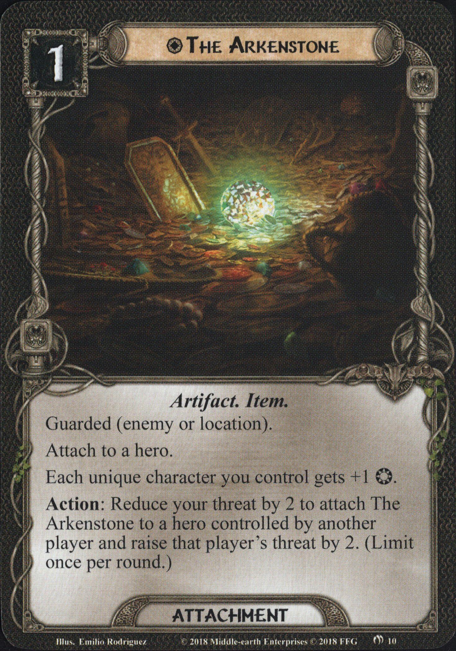 Galerie visuelle des cartes joueurs à venir The-Arkenstone