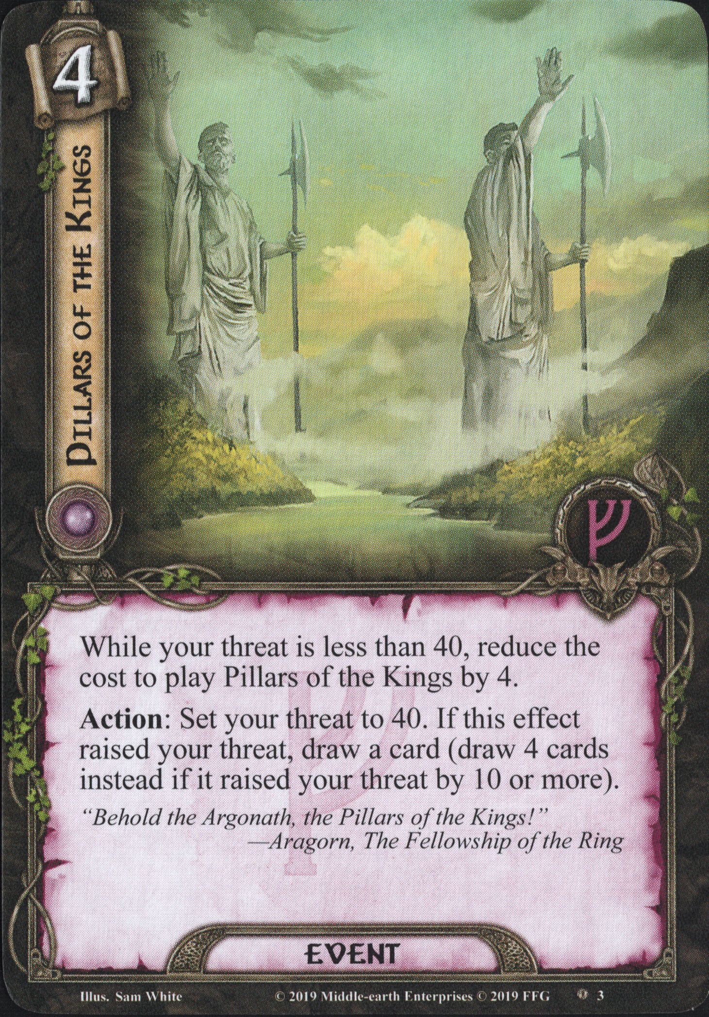 Wrath and Ruin [cycle Vengeance du Mordor, pack 1] - Page 3 Pillars-of-the-Kings