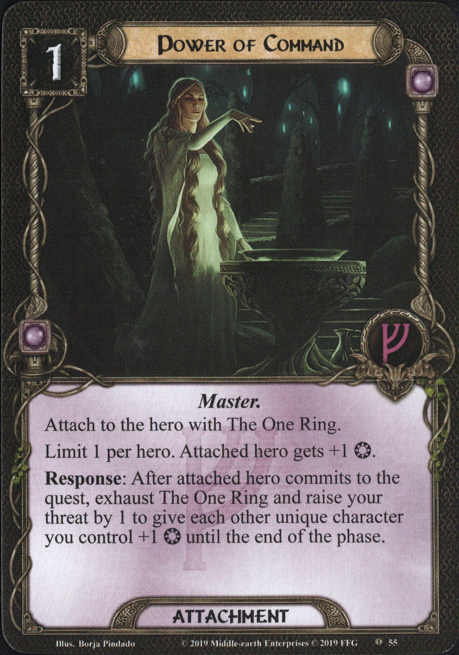 Galerie visuelle des cartes joueurs à venir Power-of-Command