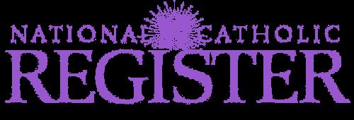 National Catholic Register Logo Hallow App
