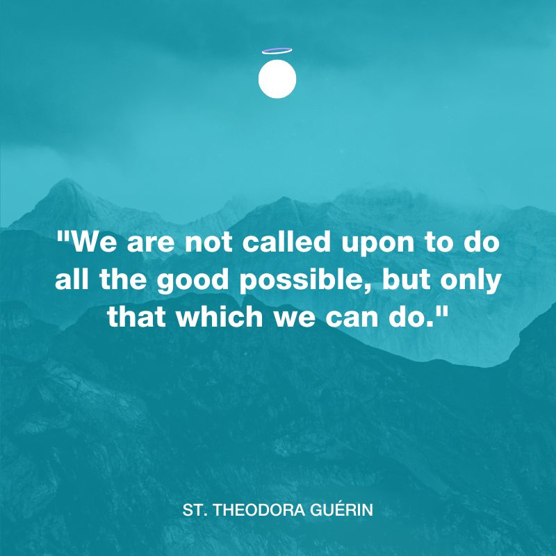 Hallow Daily Quote - all the good