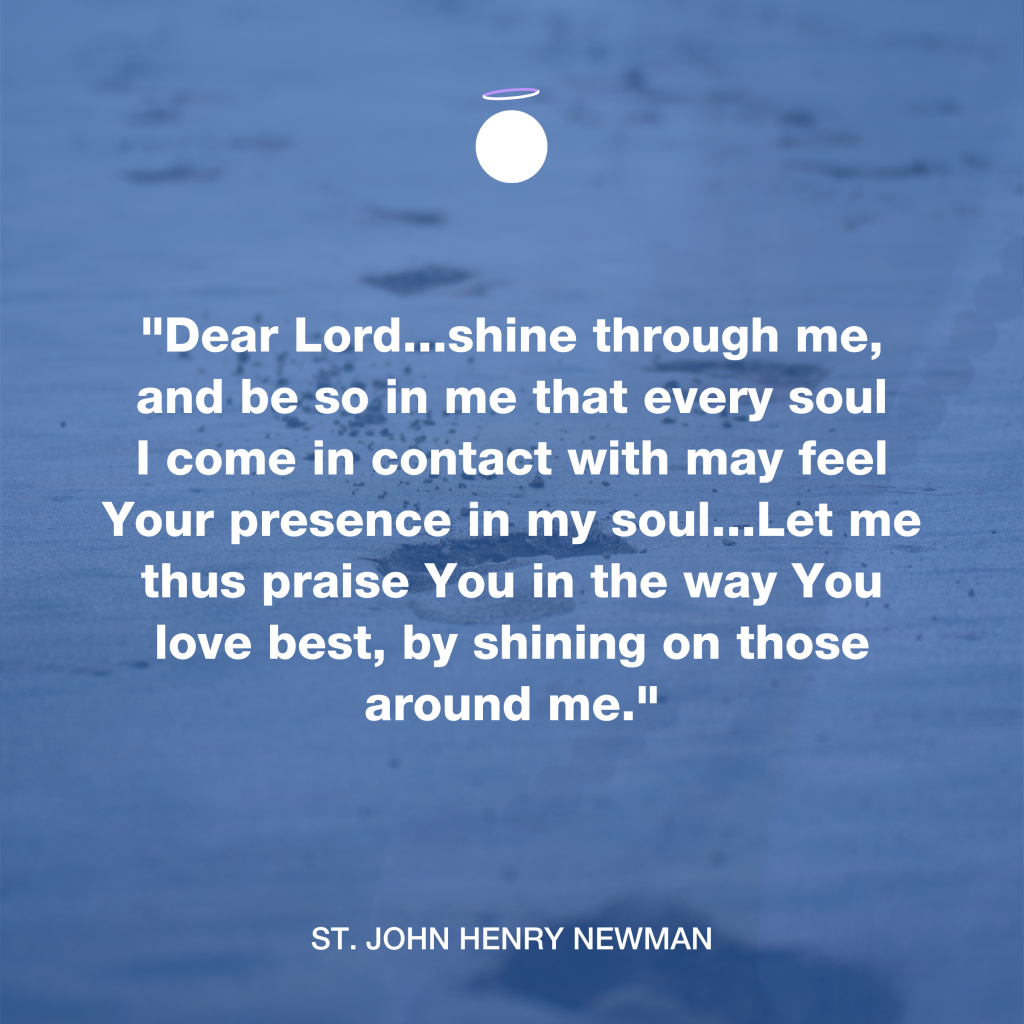 Hallow Daily Quote - Saint John Henry Newman