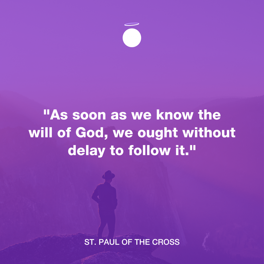 Hallow Daily Quote - Follow God