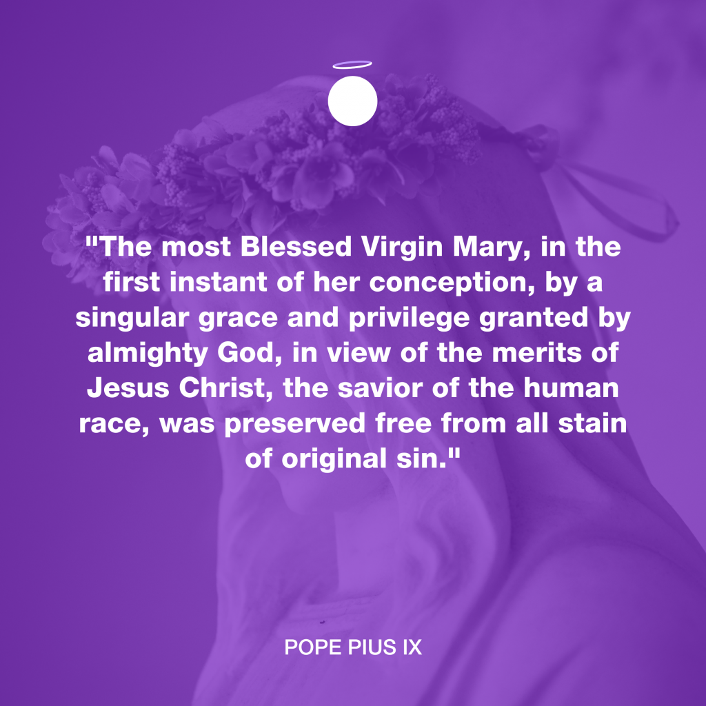 Hallow Daily Quote - Blessed Virgin Mary