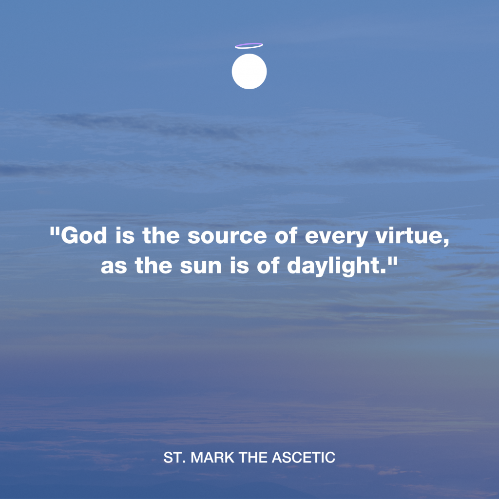 Hallow Daily Quote - God is the source