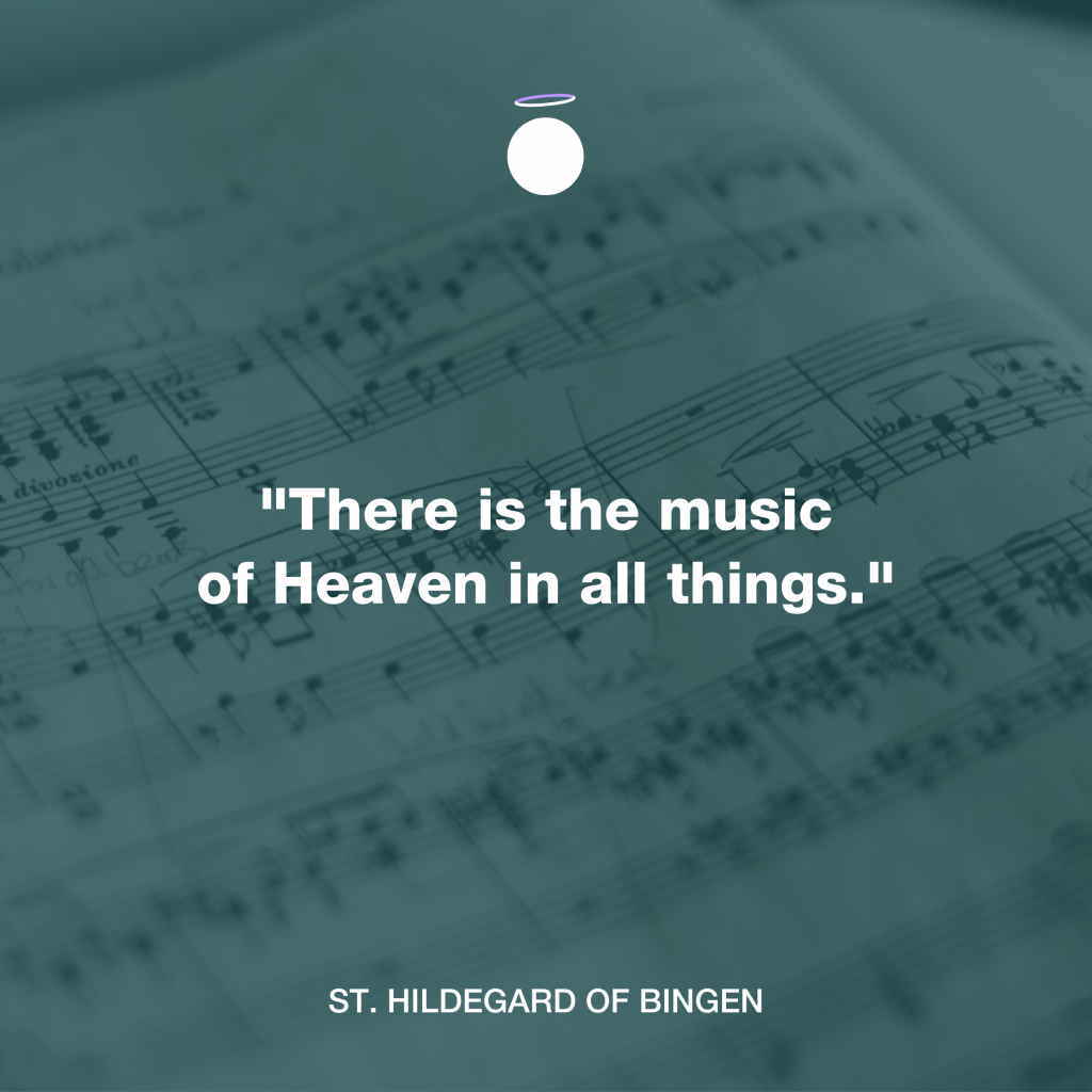Hallow Daily Quote - Music Prayer