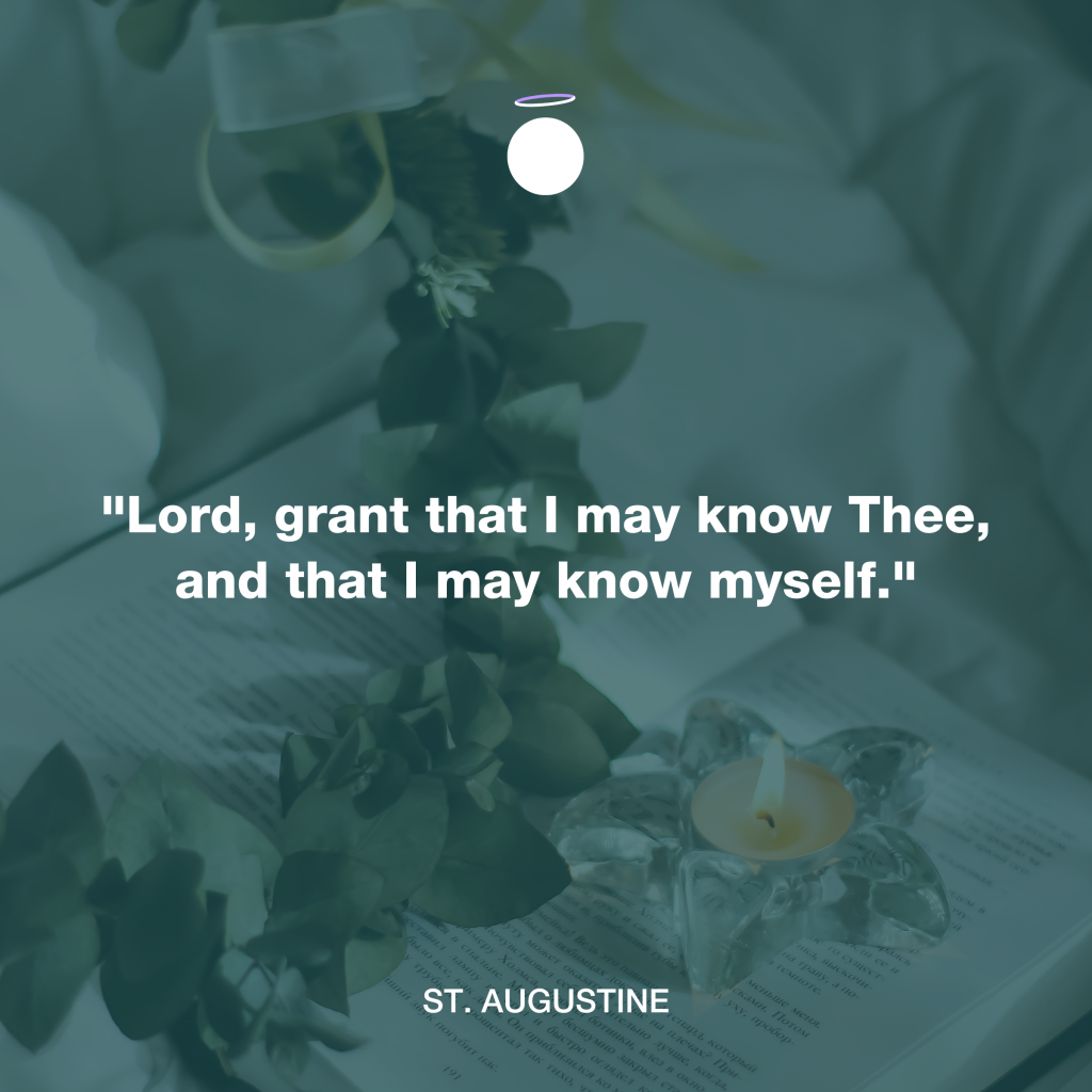 Hallow Daily Quote - Saint Augustine