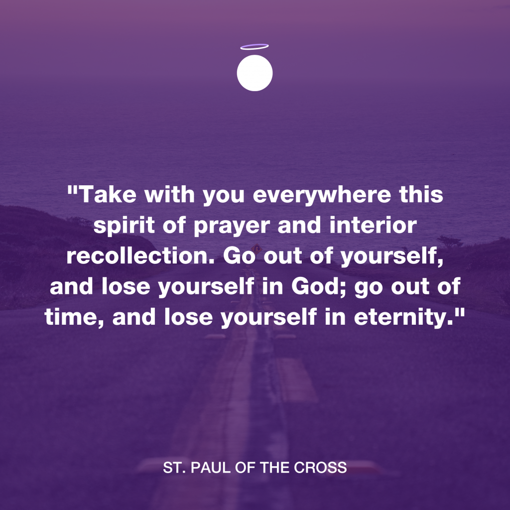 Hallow Daily Quote - Christian meditation