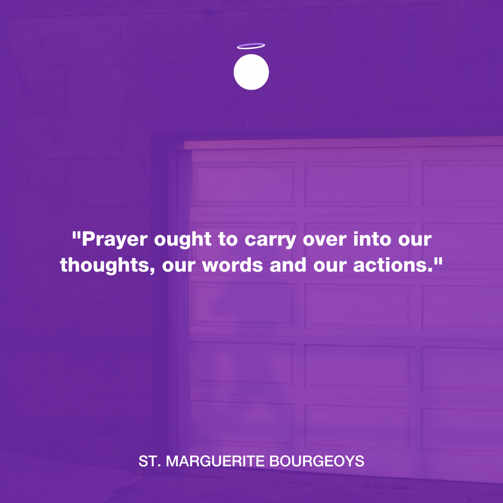 Hallow Daily Quote - Thoughtful Prayer