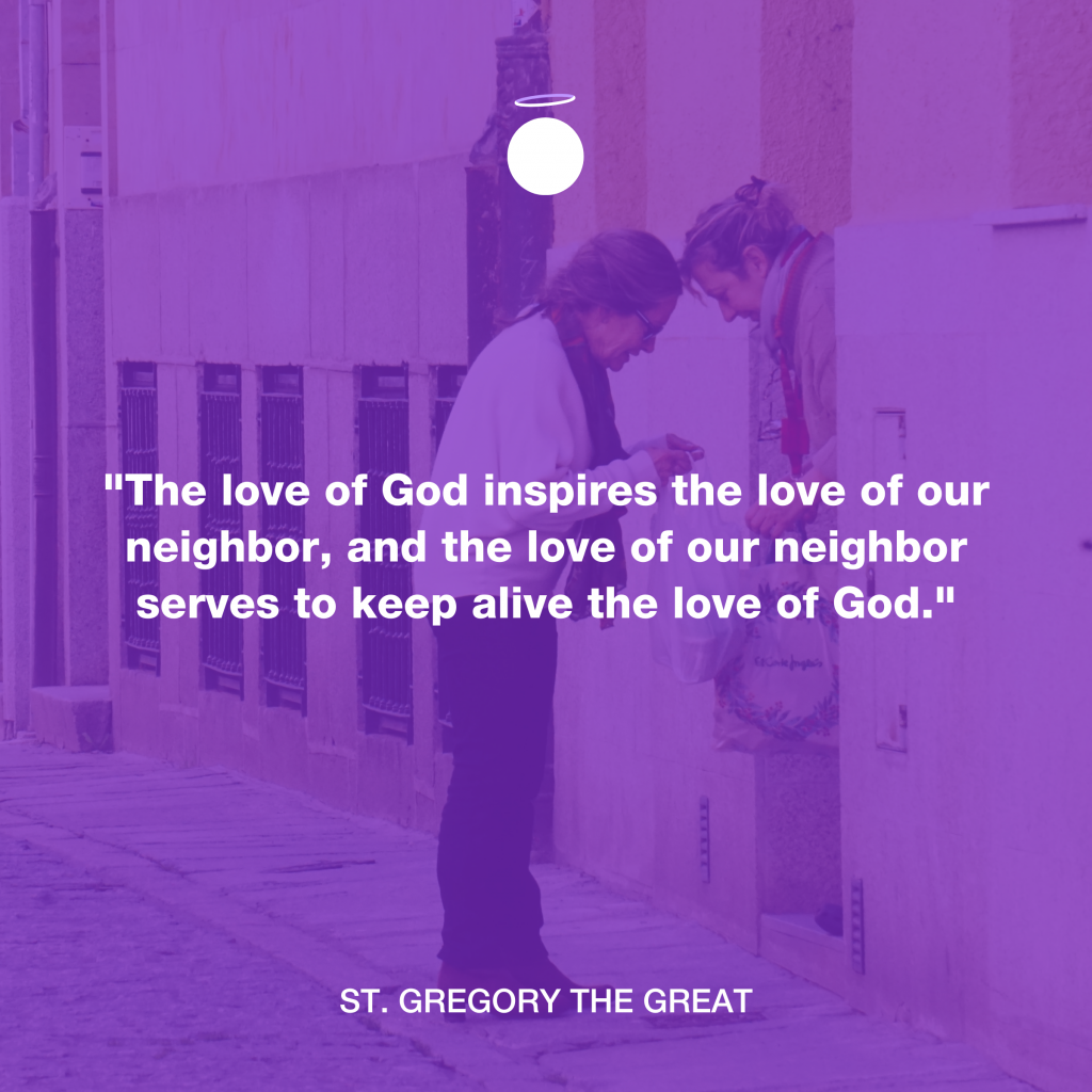 Hallow Daily Quote - love of neighbor