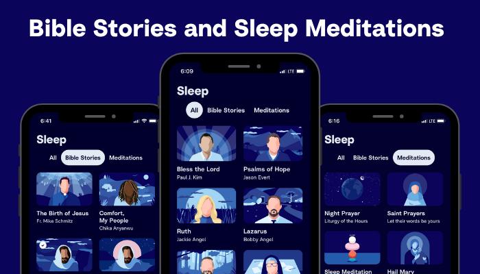 Bible Stories and Sleep Meditations