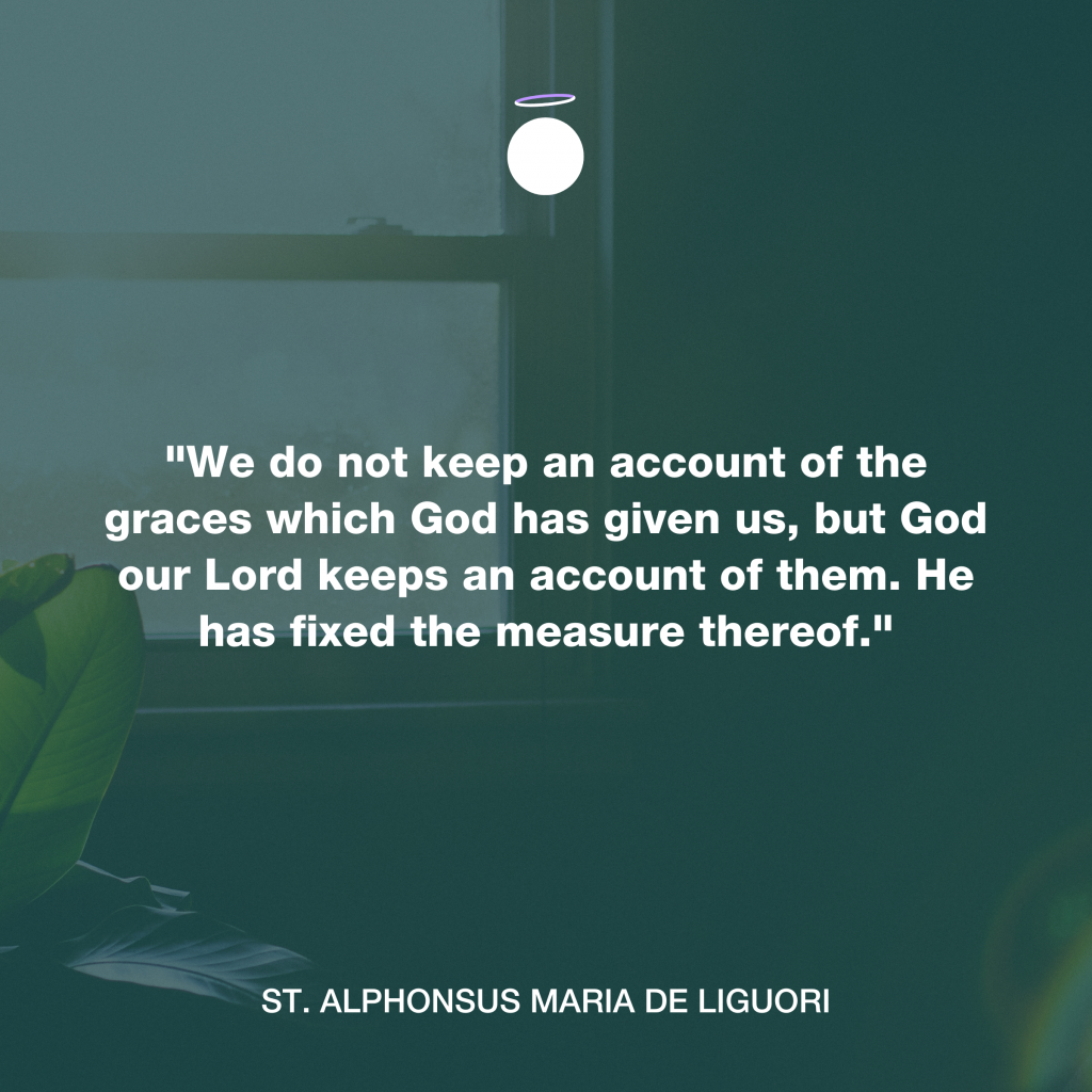 Hallow Daily Quote - God's grace