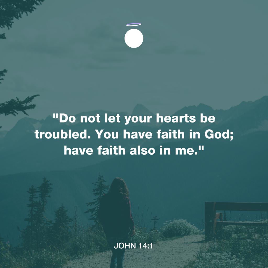Hallow Bible Verse - John 14:1