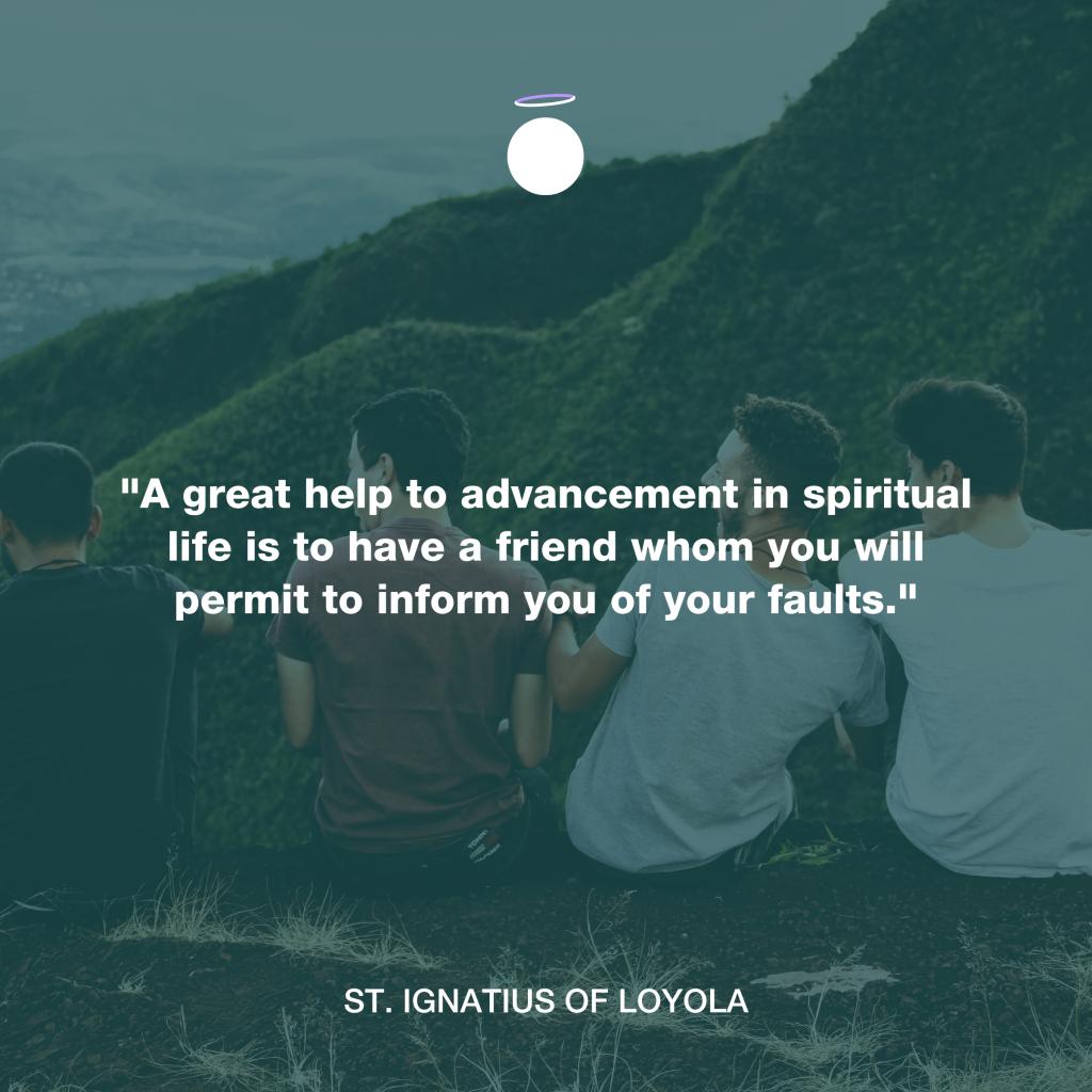 Hallow Daily Quote - Saint Ignatius of Loyola