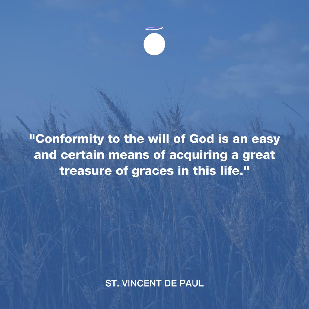 Hallow Daily Quote - Saint Vincent de Paul