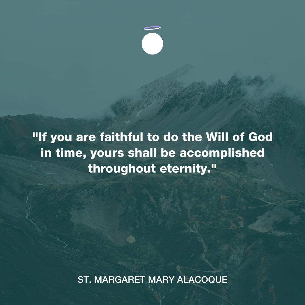 Hallow Daily Quote - Will of God