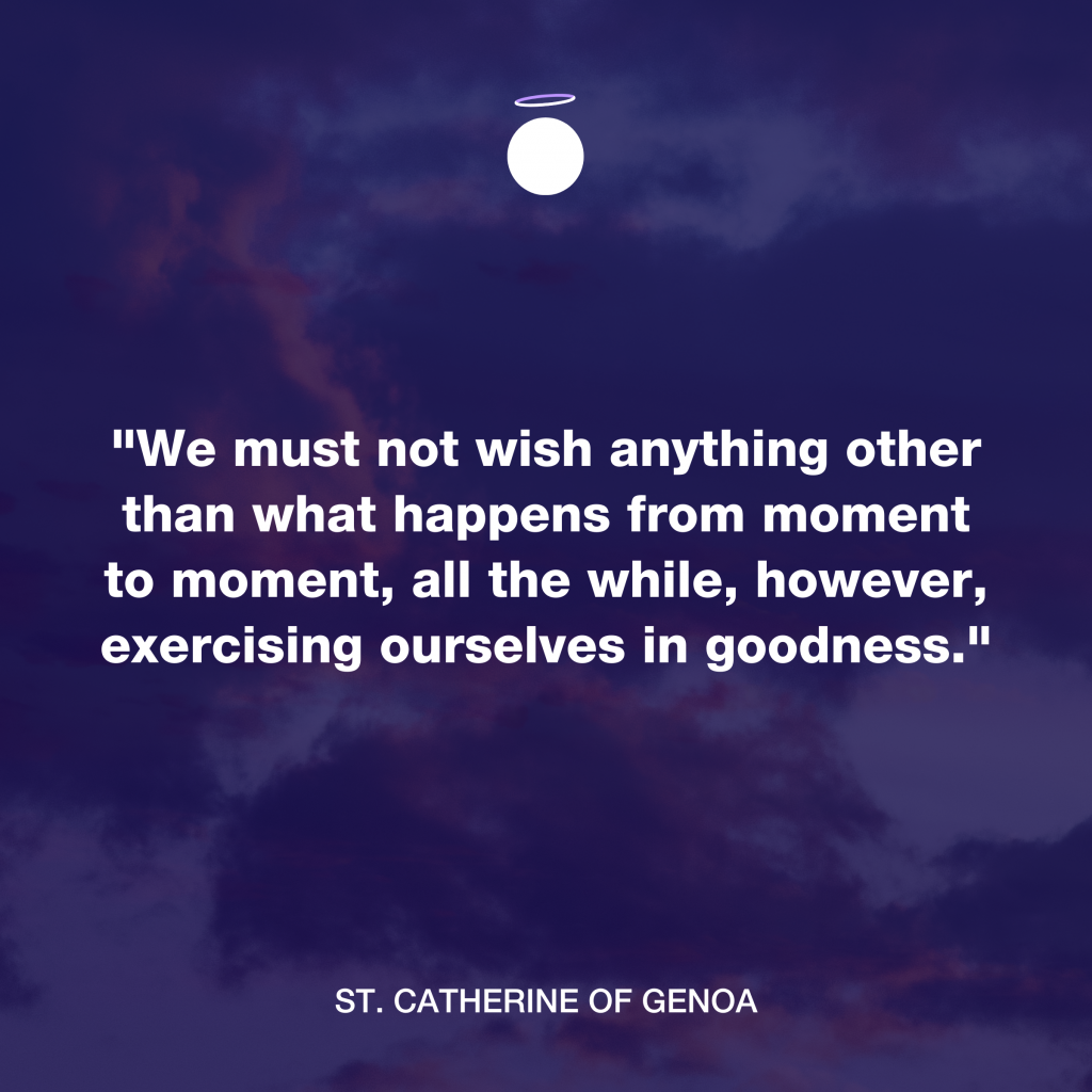 Hallow Daily Quote - goodness