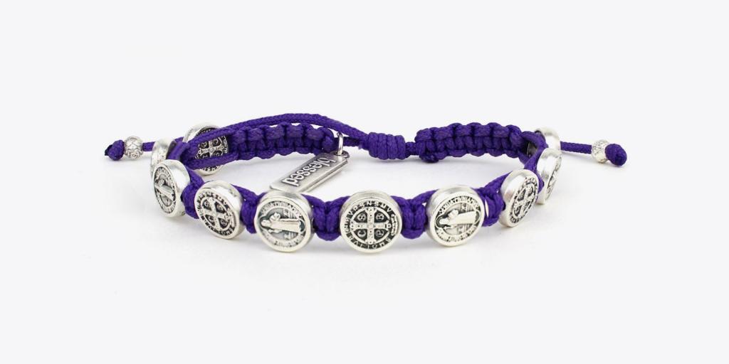 My Saint My Hero x Hallow App rosary bracelet