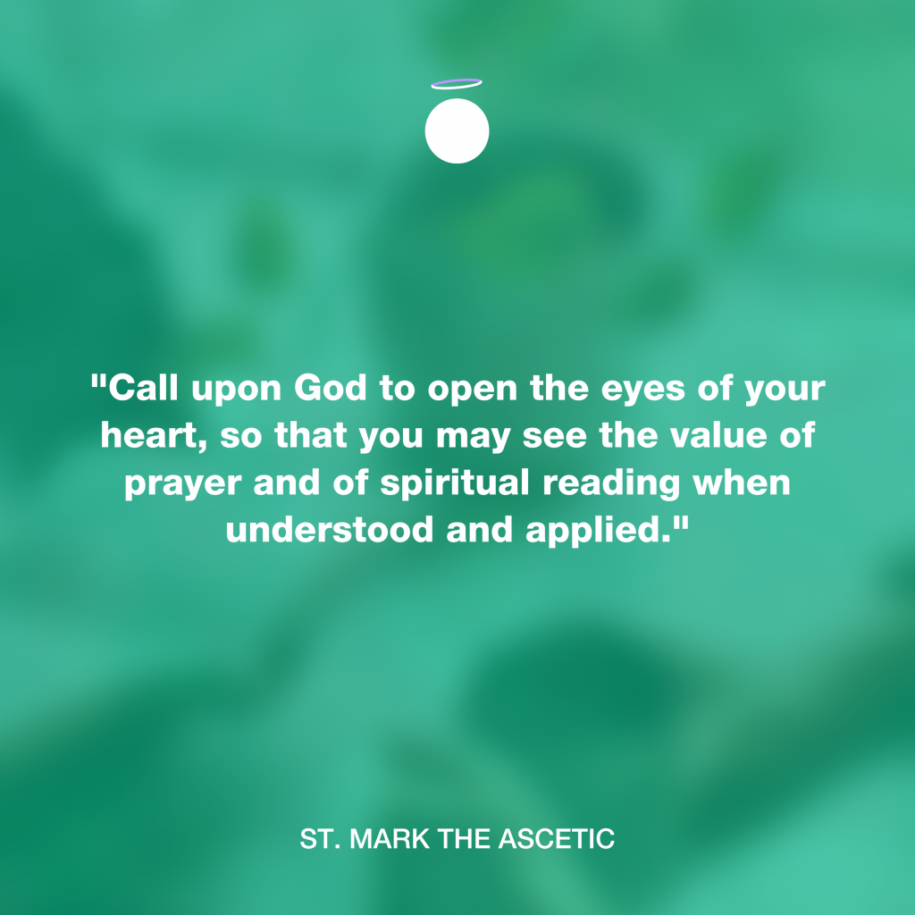 Hallow Daily Quote - Eyes of your heart