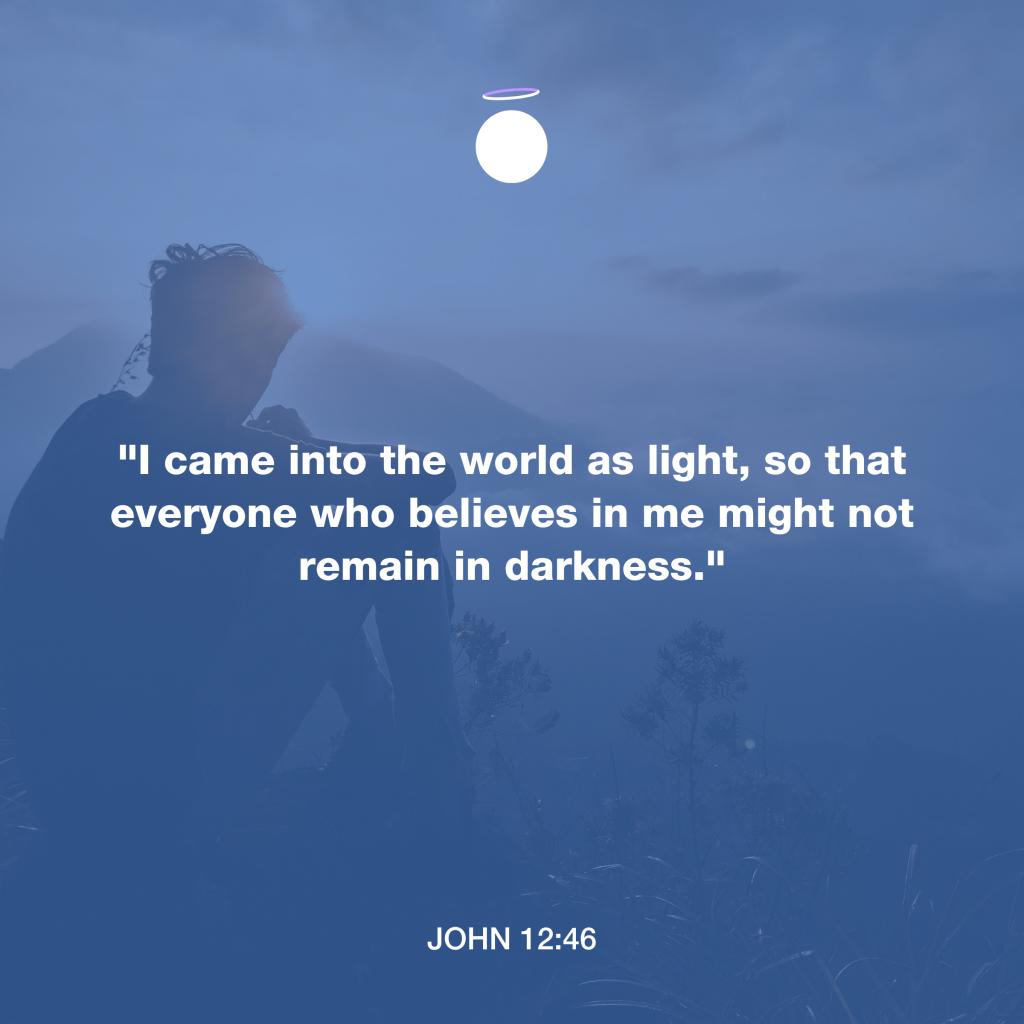 Hallow Bible Verse - Light of the World