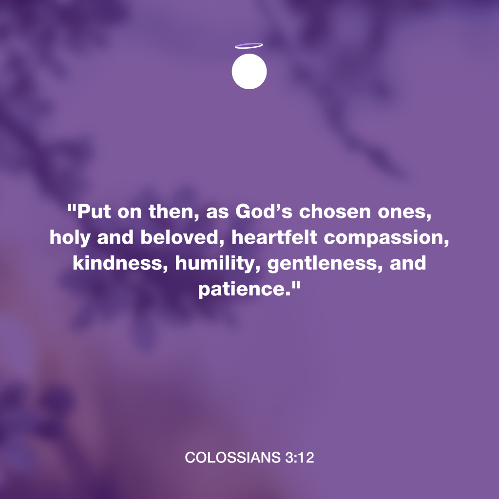 Hallow Bible Verse - Colossians 3:12