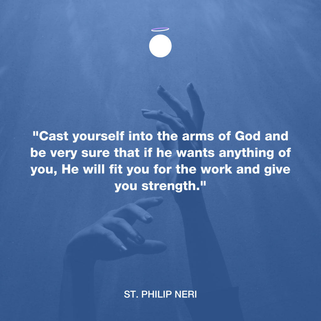 Hallow Daily Quote - Strength