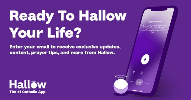 Hallow Blog Email Sign-Up